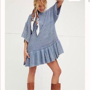 Free People Sistine Crochet Dress